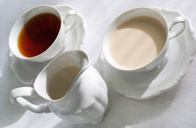 Really?: Adding Milk to Tea Destroys its Antioxidants